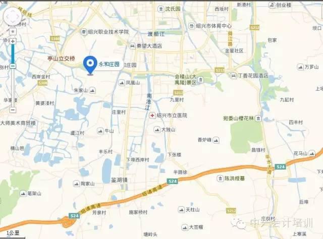 步行21米到达绍兴北站 乘坐brt1号线(绍兴北站--江家溇)途径12站到达